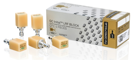 Initial LRF BLOCK for CEREC / inLab